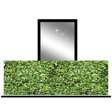 Osłona balkonowa jednostronna - jaśmin