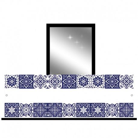 Osłona balkonowa jednostronna - Azulejos