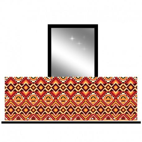 Osłona balkonowa jednostronna - Boho