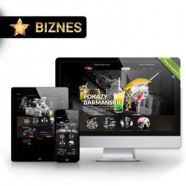 Strona internetowa Biznes + CMS