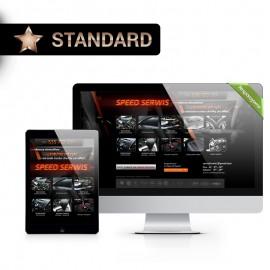 Strona internetowa Standard