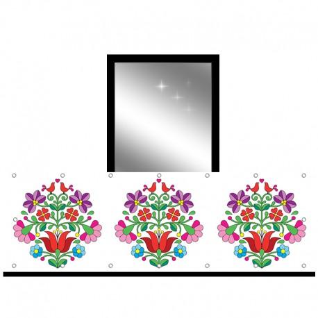 Osłona balkonowa jednostronna - Folk
