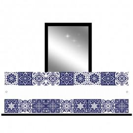 Osłona balkonowa siatka - Azulejos