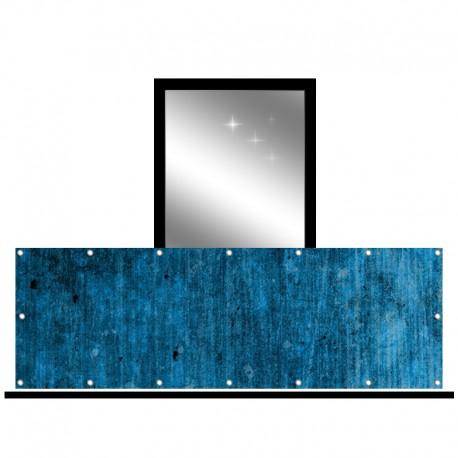 Osłona balkonowa jednostronna - Zimowy cień
