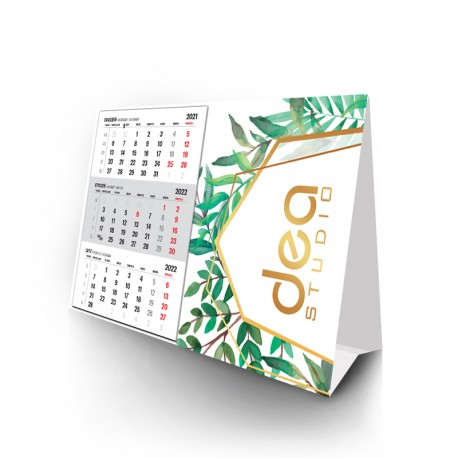 Kalendarze piramidka z doklejanym kalendarium - miesięczny