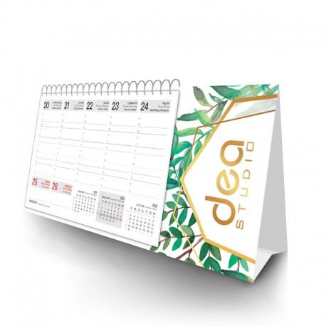 Kalendarz piramidka spiralowany - tygodniowy