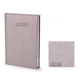 Kalendarze książkowe A5 Diamond dzienny z tłoczeniem
