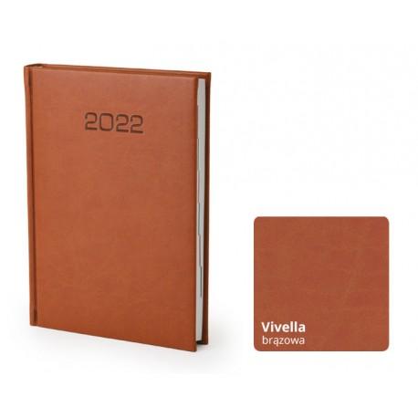 Kalendarze książkowe A5 Vivella dzienny z tłoczeniem