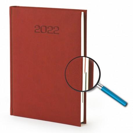 Kalendarze książkowe A5 Nadir dzienny z tłoczeniem