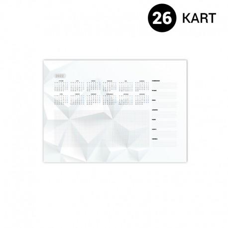 Podkłady na biurko A3 26 kart (420 x 297 mm)